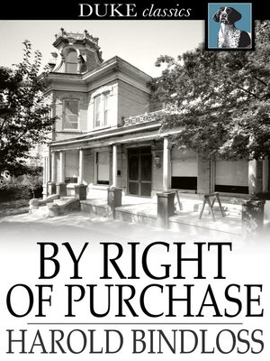 cover image of By Right of Purchase